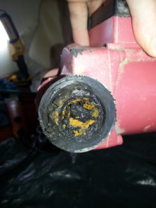 Probably one of the worst cases of sludge in a pump i have seen