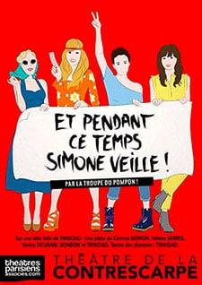 Et pendant ce temps Simone veille, spectacle à succès au Théâtre de la Contrescarpe
