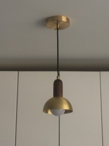 hemisphere pendant light