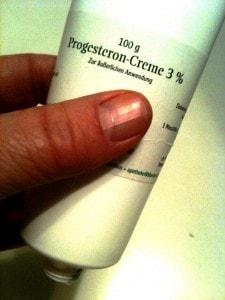 Progesteroncreme