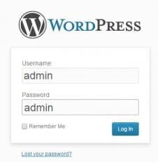 Your Website Is Under Threat Right Now wordpress-log-in