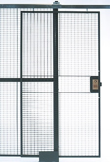 Wire Partition Sliding-Doors
