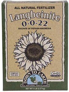 Down To Earth Organic Fertilizer