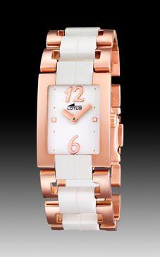 Reloj Lotus L18490-1 OFERTA cerámica