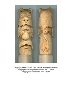 Free Wood Carving Patterns by Lora Irish