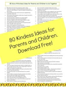 acts of kindness ideas
