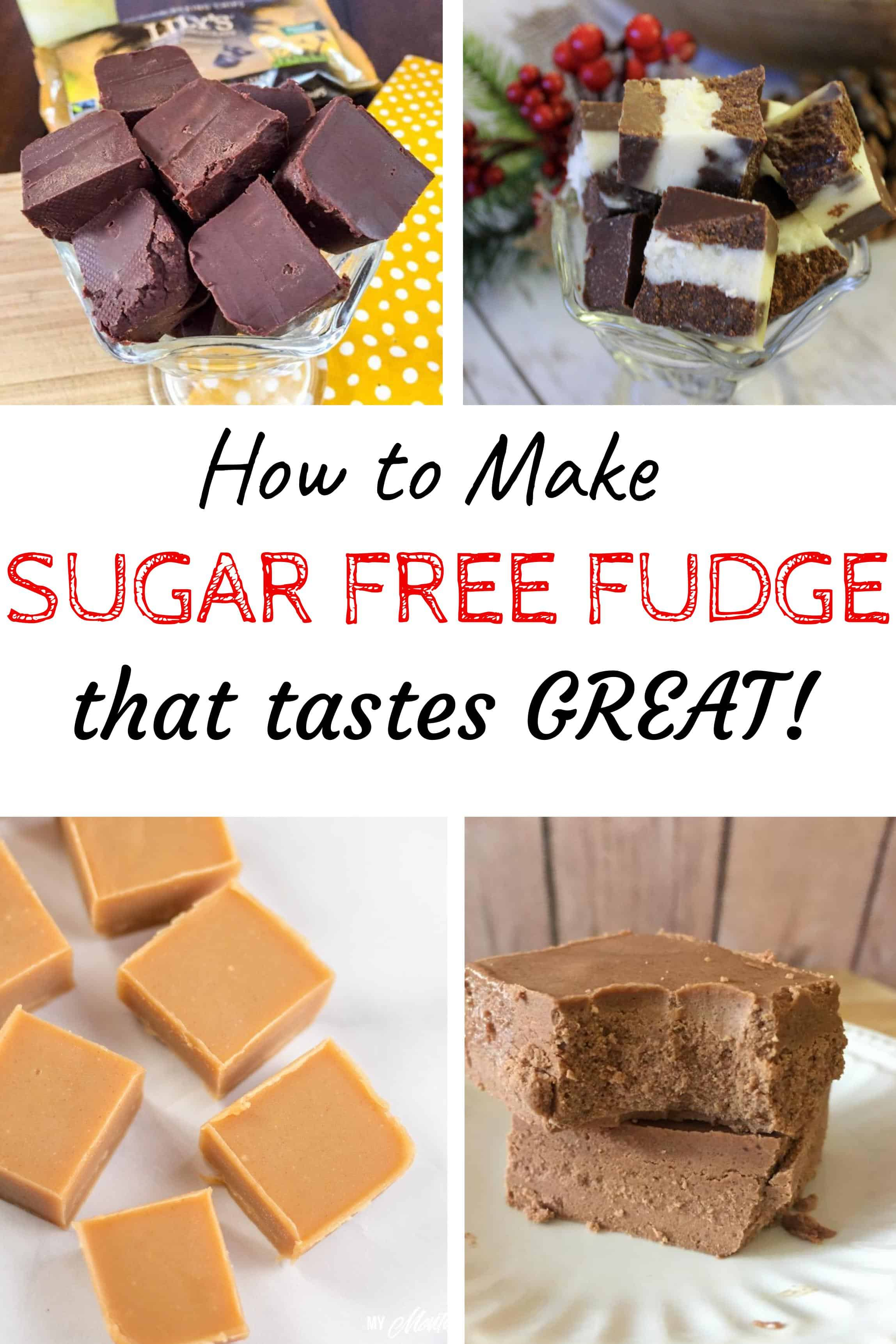 It is super simple to make great tasting sugar free fudge. Only a handful of ingredients and a few moments, then you can have a delicious treat whenever you want! These recipes make great low carb fudge and keto fudge easy! #keto #lowcarb #healthyfudge #sugarfreefudge #trimhealthymama #thm #thmfudge #sugarfree #fudge #2ingredientfudge