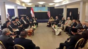 Resmikan Masjid di AS, SBY Ajak Ummat Islam Hentikan Kekerasan