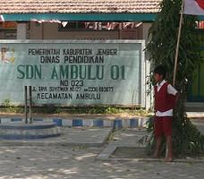 Bangunan sekolah SDN 1 Ambulu
