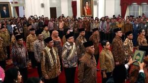 Pelantikan Menteri Kabinet Kerja 2014