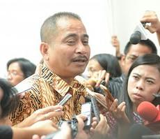 Menteri Pariwisata Arief Yahya menjawab wartawan seusai rapat terbatas, di Istana Bogor, Jabar, Senin (16/2)