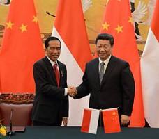 Presiden RRT Xi Jinping saat menerima kunjungan Presiden Joko Widodo, di Beijing, akhir Maret lalu