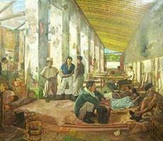 Foto.1: Markas Laskar Rakyat di Bekas Gudang Beras Cikampek.