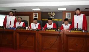 Pimpinan Mahkamah Kehormatan Dewan (MKD) saat menangani sebuah perkara, beberapa waktu lalu