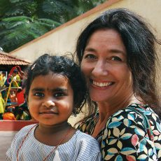 Ny Barneaksjon: Gledelig gjensyn med Indrani