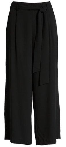 Halogen wide leg crop pants | 40plusstyle.com