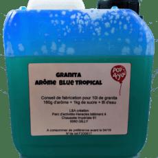 Granita tropical bleu