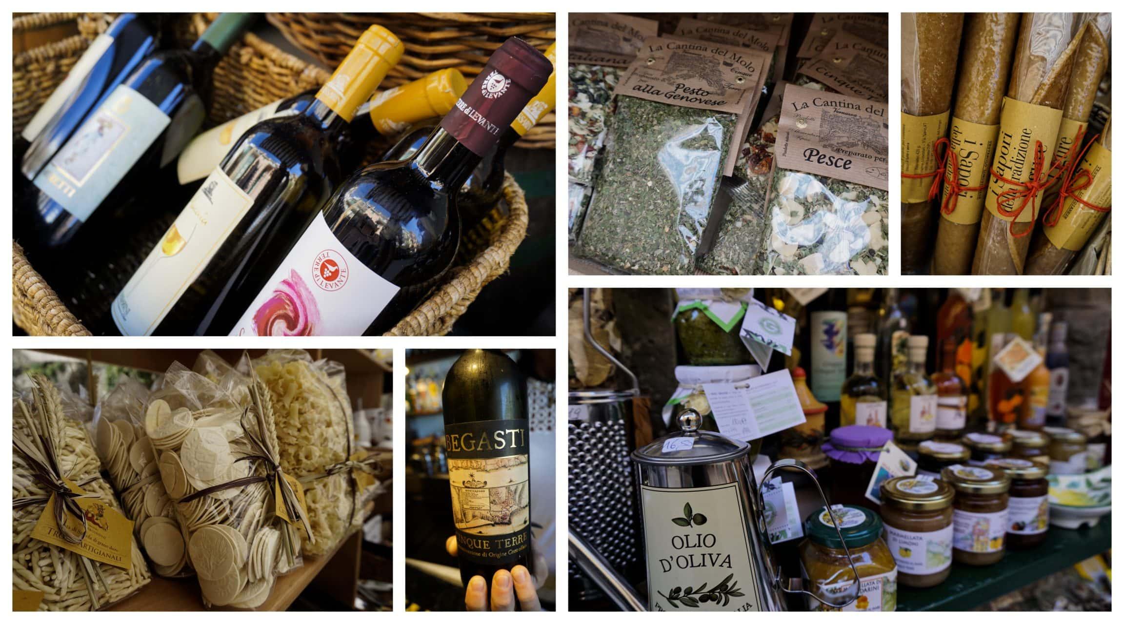 Cinque Terre Italy Food and Wine
