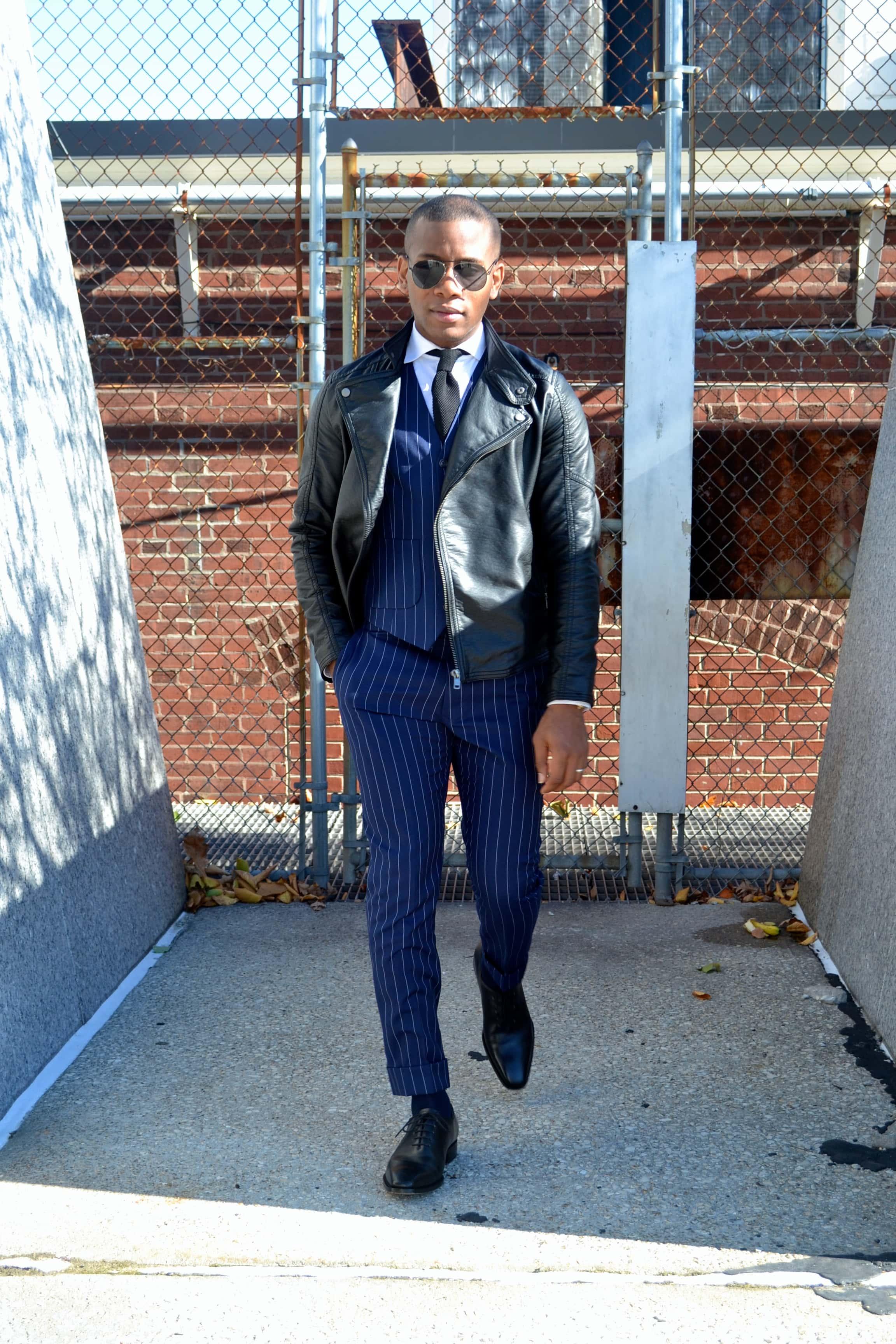 Imparali Custom Tailors Chalk Striped Edinburgh Suit Review Men's Style Pro