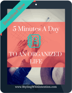 5 minute organize ipad