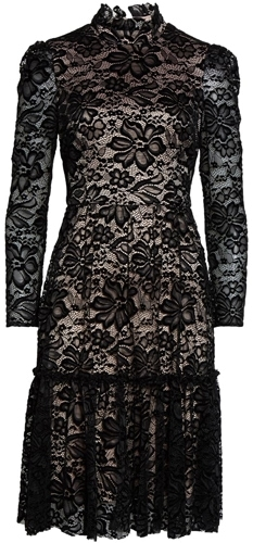 Eliza J fit & flare lace dress   40pusstyle.com