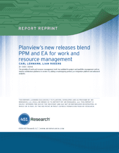 Planview's new releases blend PPM and EA for work and resource management