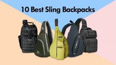 10 Best Sling Backpacks - One Strap Backpack for EDC