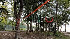 Backyard Ninja Obstacle Course