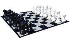 Giant Chess Set: Indoor and Outdoor Chess Set
