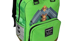 Minecraft Pickaxe Adventure Kids Backpack