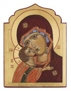 H. Moeder Gods van de tederheid Sjoukje Zandee 15x19,5cm