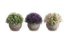 Mini Artificial Plants in Pots