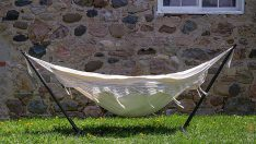 Vivere Double Hammock with Stand
