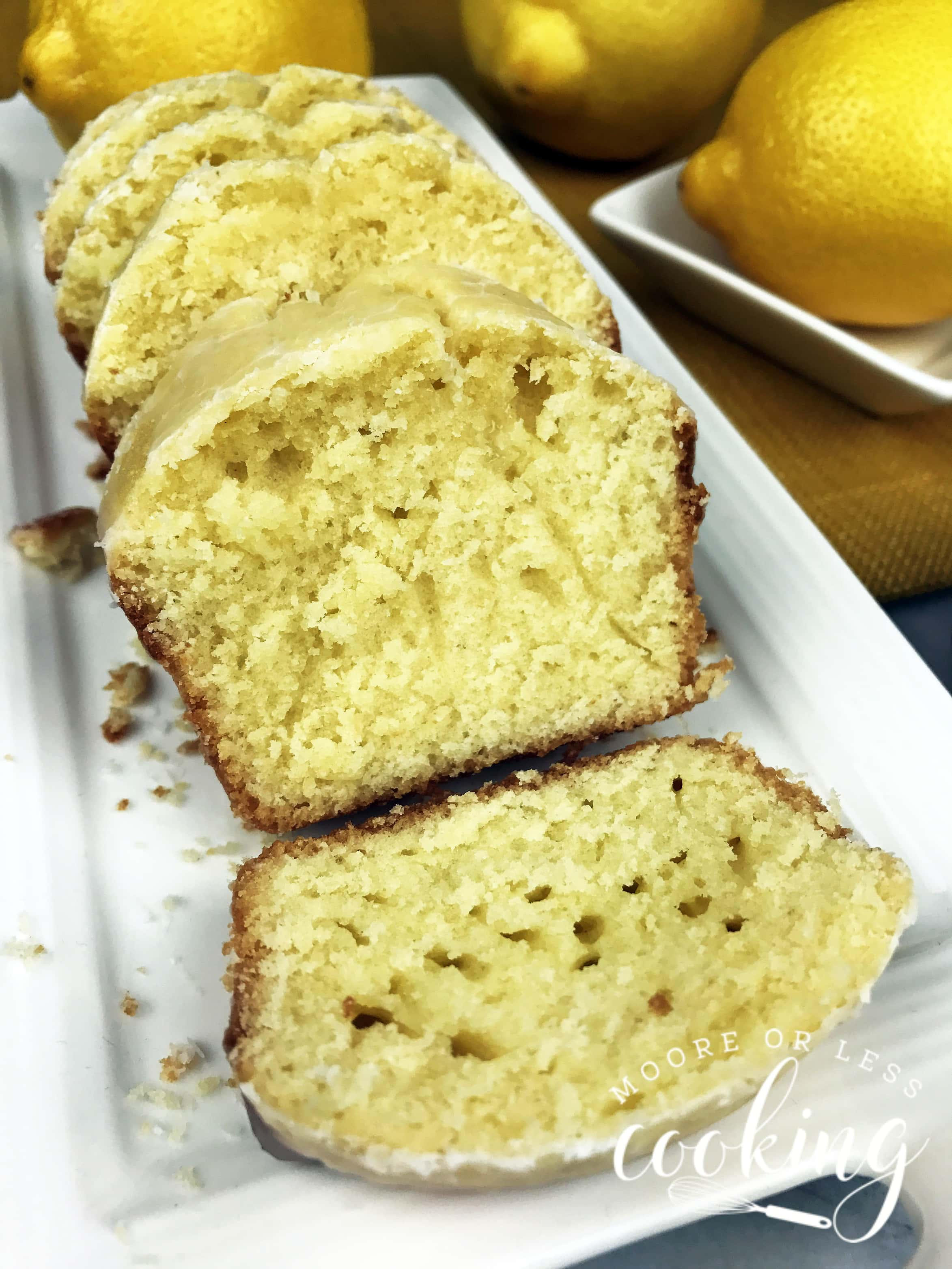 CopyCat Starbucks Mini Lemon Loaves