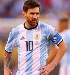 Lionel Messi Biografia Argentina 2016