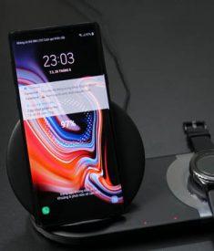 Sạc không dây đôi Galaxy Note 9