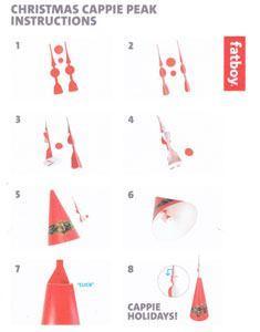 cappie peak instructions