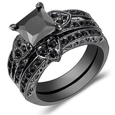 anillo oro negro