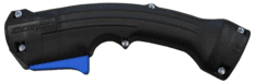 O series small curved handle option for BTB semi-automatic air-cooled MIG guns