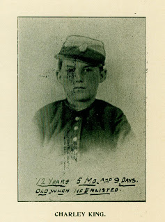 Charley King, the youngest Civil War solider.