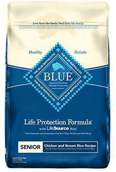 blue buffalo life protection formula senior with lifesource bits chicken brown rice