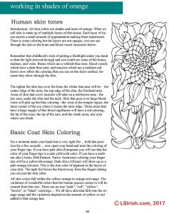 Adult Coloring Portrait Pages