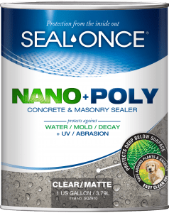 seal once nanopoly concrete and masonry sealer- Masonry Sealer