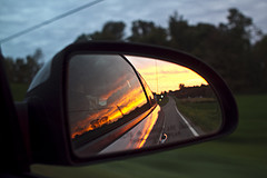 rearview mirror by Alvaro on Flickr