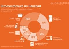 Grafik: Stromverbrauch im Haushalt