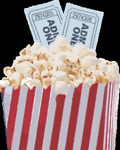popcorn, movie, pop