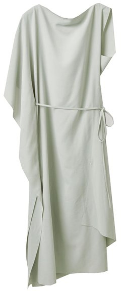 COS draped dress | 40plusstyle.com