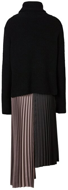 Warm winter dresses - ALLSAINTS two-piece sweater & dress | 40plusstyle.com