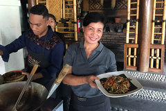 Bali Cooking Class, a Spicy lesson between Vodka shots and Beer