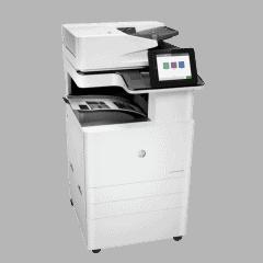 HP Mono LaserJet Managed E82560dn Right View web
